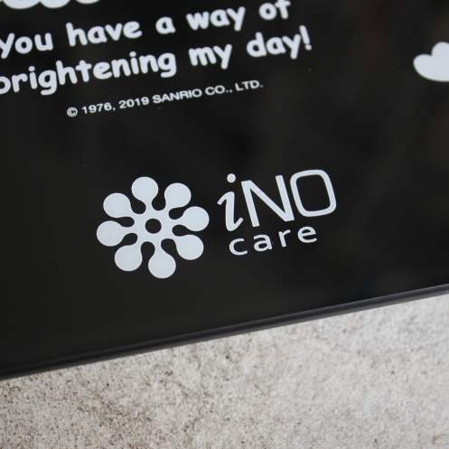 【iNO】全家的健康管家 藍牙智能體重機《Hello Kitty 黑色限定版-預購》(筆記獨家 全球首賣、搭配APP可測12項身體數據)3