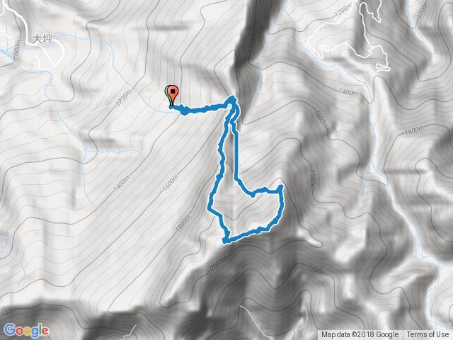 大坪登山口-杜鵑嶺-加里山