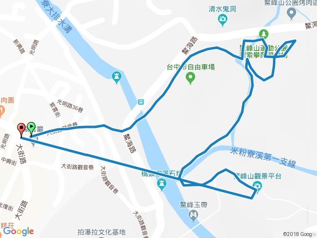 清水鰲峰山步道