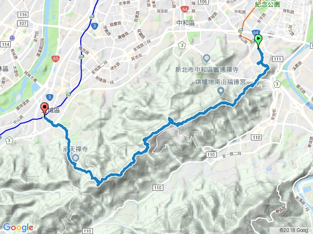 2017-07-23_南勢角山-天上山縱走
