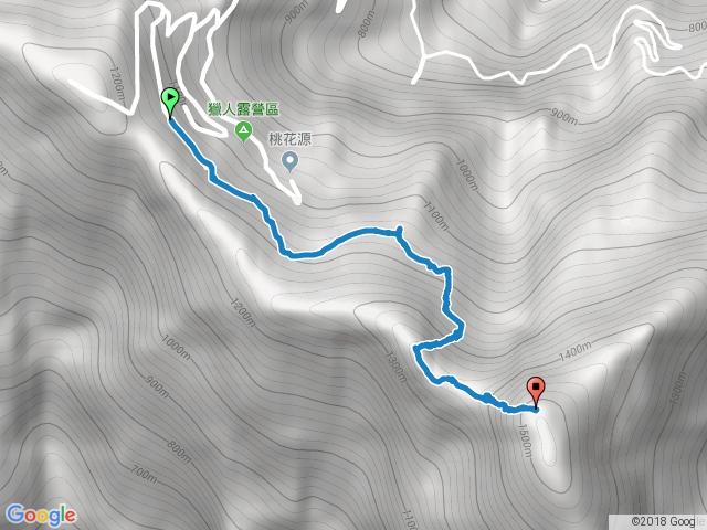 鱈葉根山步道