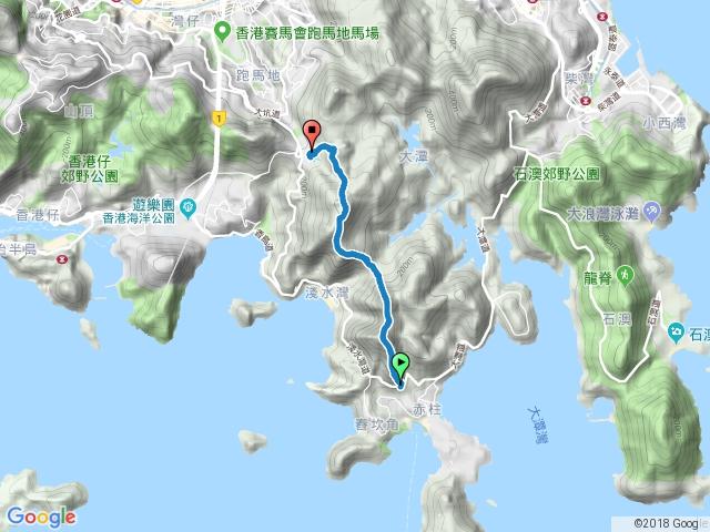 香港衛奕信徑(赤柱峽道-陽明山莊)2017-05