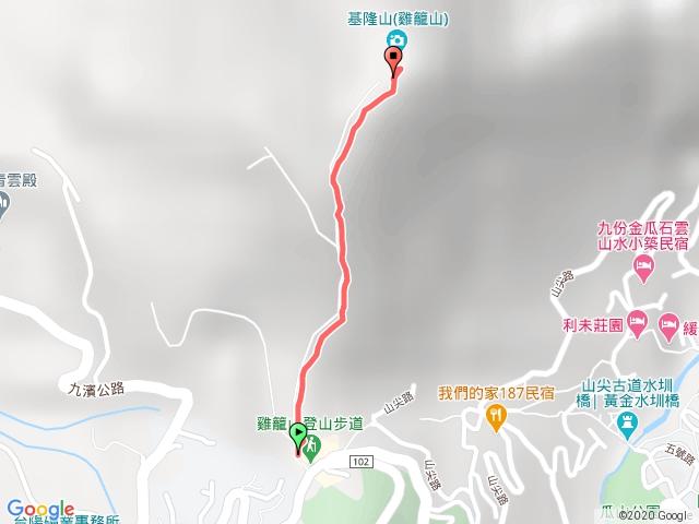小百岳集起來基隆山步道202010041021