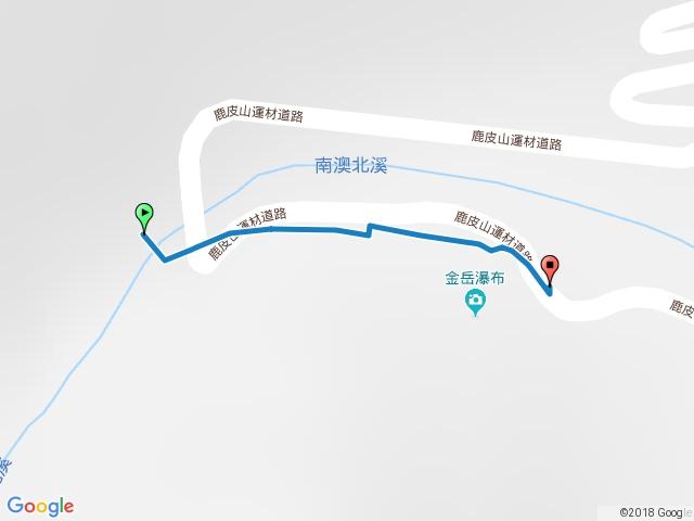 金岳瀑布步道