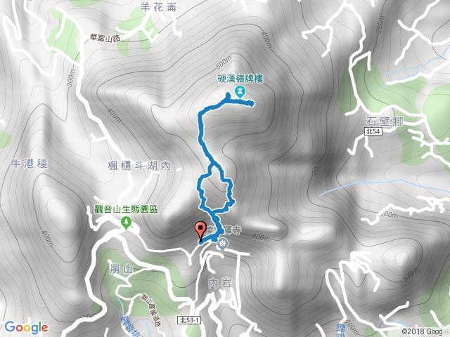 八里觀音山硬漢嶺步道小O.2015/2/15